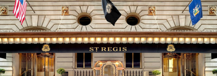 St Regis, New York City